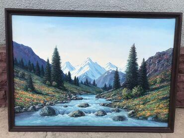 Картина живопись,размер 105×75 см