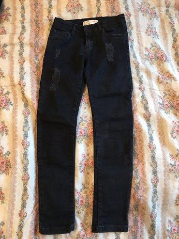 Bakı şəhərində черные стильные джинсы,фирма zara,для девочки