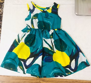 платье на лето в Кыргызстан: Новое платье на девочку (3-4 годика), лёгкое на лето, х/б, качество
