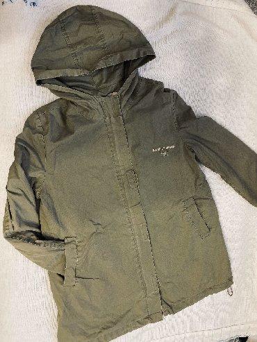 детская куртка для девочки 5 6 лет в Кыргызстан: Демисезонное пальто -парка для девочки 5-6 лет