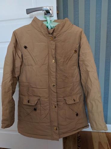 стильную зимнюю куртку в Кыргызстан: Продаю куртку зимнюю 42 размер
