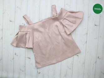 Женская блуза с открытыми плечами Closet London, р. S    Длина: 52 см