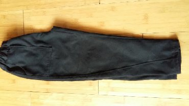 мужские черные брюки в Кыргызстан: Черные брюки с начесом