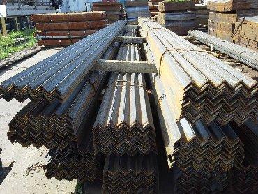 труба квадрат 50х50 цена бишкек в Кыргызстан: Уголок стальной 50х50