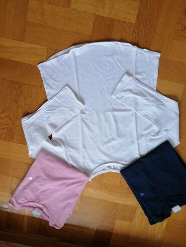 Majica velicina m - Srbija: Zara duksici velicina 140 beli nikad nosen