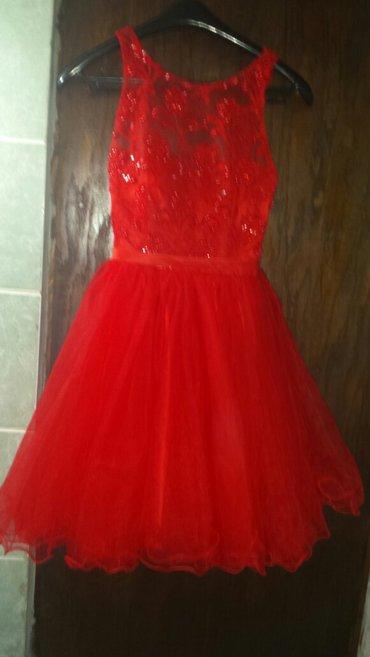 Na prodaju haljina za maturu s/m velicina. Jednom nosena. Made in - Razanj