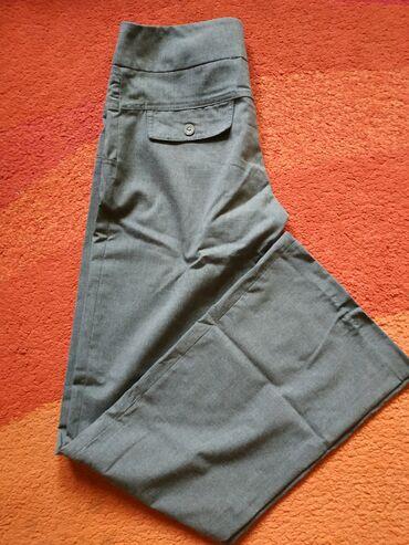 poslovne pantalone u Srbija: Sive poslovne pantalone bez mana. Vel. 36