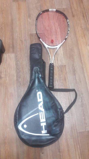 Ракетки в Кыргызстан: Теннисная ракетка с чехлом