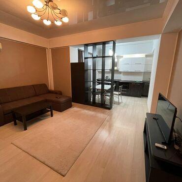 4 комнатные квартиры в бишкеке цена в Кыргызстан: 2 комнаты, Душевая кабина, Постельное белье, Парковка, Без животных