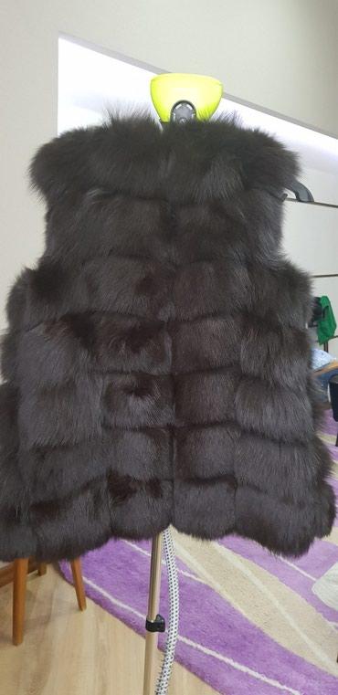 Жилетка б/у, одевала один раз, в Бишкек