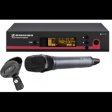 Микрофоны в Кыргызстан: SENNHEISER EW-135 G3 ВОКАЛЬНАЯ РАДИОСИСТЕМАВокальная радиосистема