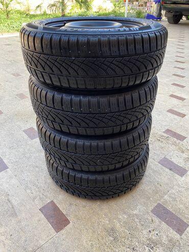 hr s в Кыргызстан: Продаю шины и диски 4 шт от Honda Jazz Fit Civic M/S Hankook 175/65/14