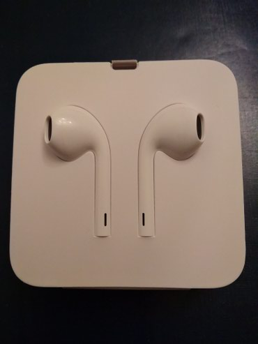 Новые наушники-Apple Lighting Earpods Original и  в Бишкек