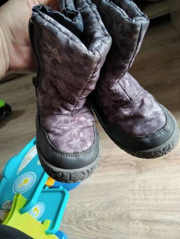 детские лаковые туфли в Азербайджан: Детские сапожки 25 размер