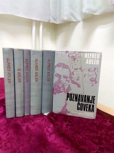 Komplet od šest knjiga Alfred Adler: poznavanje čoveka, smisao života