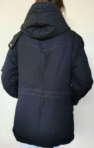 Sako sa - Srbija: DONDUP muska zimska jakna sa kapuljačom, lagana, a topla, skroz očuvan