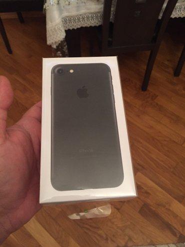 Bakı şəhərində Tecili satilir Iphone 7 32 gb 1 heftenin telefonudu ideal veziyyetdedi