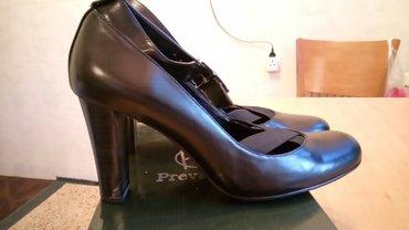 Туфли офисные, чёрные, кожаные, новые, в Бишкек