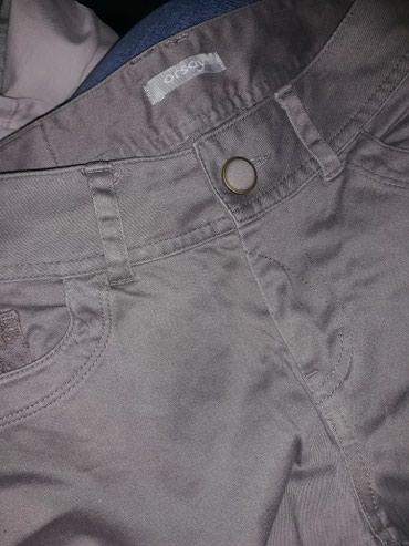 Pantalone markirane tanke,prijatnog materijala, velicina 28. - Vranje