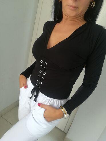 Bluza vrhunskaVel S M LExtra model i kvalitet uvoz TurskaPAMUK ELASTIN