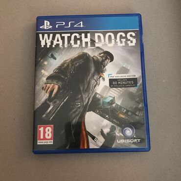 PS4 (Sony Playstation 4) - Azərbaycan: 3 oyun. Watch dogs, NFS Payback, GTA 5