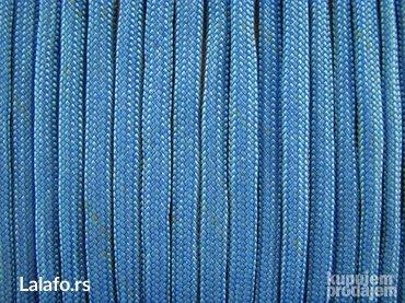 Paracord kanap sky blue(15m)veliki izbor boja - Bela Crkva