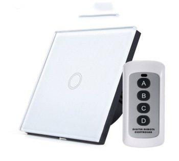 Сенсорный Умный Включатель - Выключатель света с Пульта Дистанционного