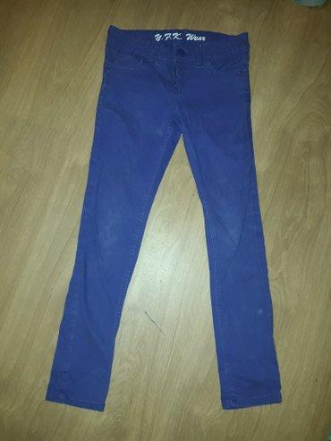 Ljubicaste pantalone  vel. 140 - 146 - Prokuplje