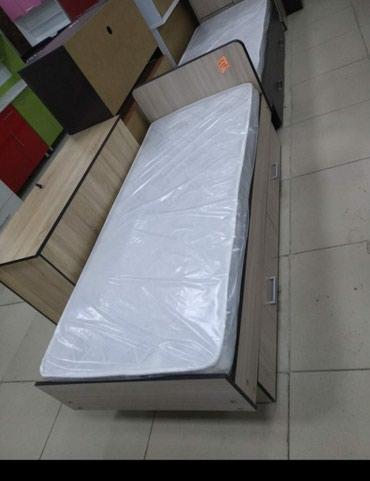Односпальные кровати новые с матрасом + доставка в Бишкек