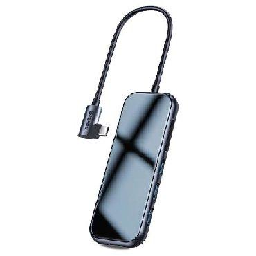 Другие аксессуары для мобильных телефонов в Сарай: BASEUS Superlative Çox funksiyalı HUB (Tipdən C-yə qədər 2xUSB 3.0 +