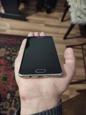 звонок для телефона fly в Азербайджан: Б/у Samsung Galaxy A5 2016 16 ГБ Золотой