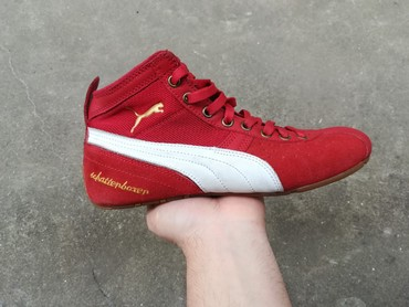 PUMA Schattenboxen Mid Suede Red Boxing- RETRO model - Vranje