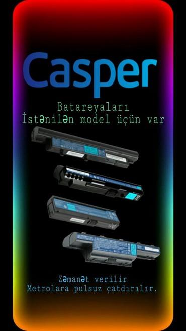 qadın üçün dəri krosovkalar - Azərbaycan: Casper notebook batareyalarıİstənilən model Casper notebooklari üçün