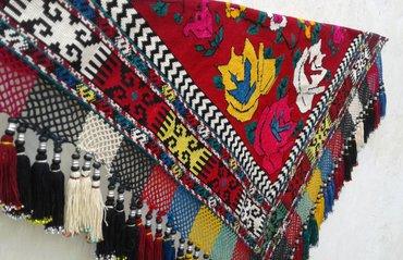 Уголок-панно. Полностью ручная вышивка. в Душанбе - фото 2