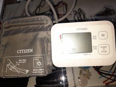 Тонометр omron бишкек - Кыргызстан: Продаю тонометр CITIZEN