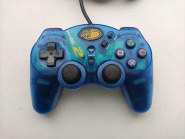 games ps1 в Кыргызстан: Продаю фирменный контроллер джостик на пс1 пс2 Madcatz Dualforce2