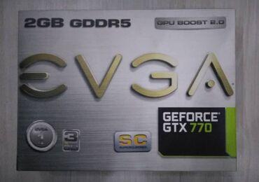 Продаю видеокарту gtx770, привезена из USA. Не гонялась, не майнилась