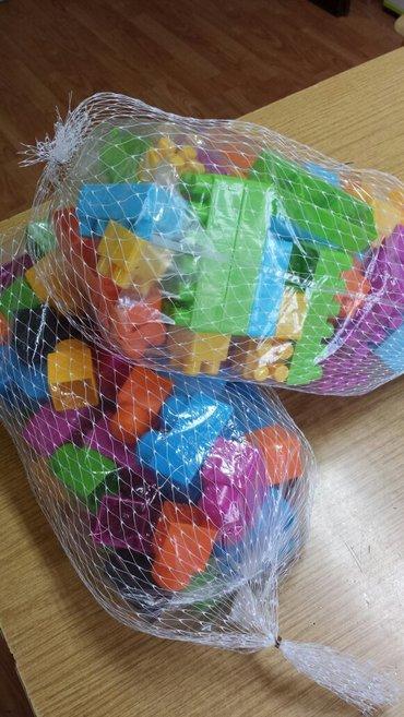 Nove kockice za slaganje u vrećici, krupne i srednje veličine, cena po - Velika Plana