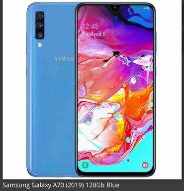 İşlənmiş Samsung A70 128 GB göy