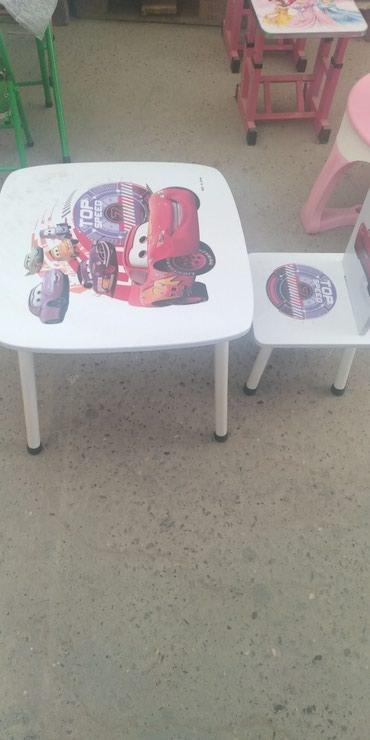Xırdalan şəhərində Uşaq masası,təzədi,cesitlerimiz çoxdu,çatdırılma var.