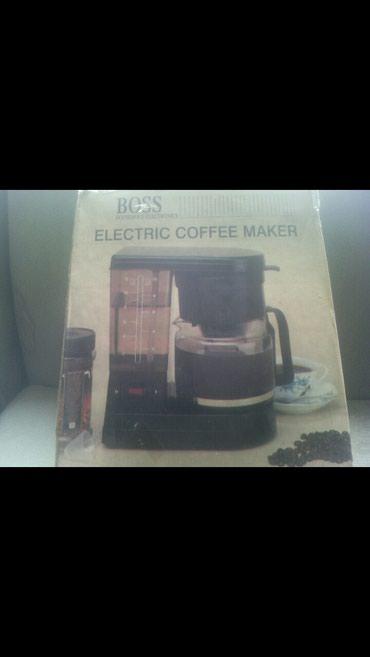 Elektronika - Rumenka: Prodajem elektricni kafe aparat za filter kafu,nov, nekorišćen