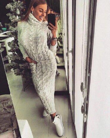 женские вязаные кардиганы в Азербайджан: Женские вязаные платья Новинки!!! Размеры уточняйте!! Хит продаж!!