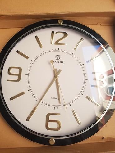 Ev saati - Azərbaycan: Ev saati yenidir,eni 40 sm,uzunlugu 40 sm