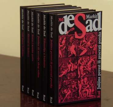 Sabrana dela markiza de sada, potpuno nov komplet knjiga, svih 6 naslo - Beograd