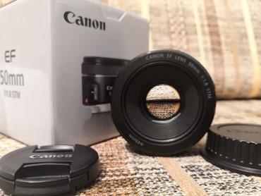 50mm - Azərbaycan: Canon 50mm 1.8