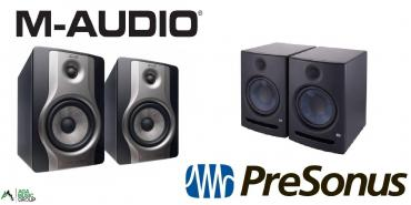 audi-quattro-21-20v - Azərbaycan: M-audio bx5 carbon studiya monitoru 70w (40 + 30) dinamik və bir 5-inc