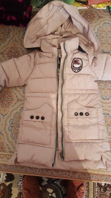 Куртка на девочку 4-5 лет б/у в хорошем в Novopokrovka