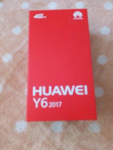 Ostali aksesoari | Srbija: Huawei y6 2017 kutija nova bez ostecenja sa dodatnim knjizicama i