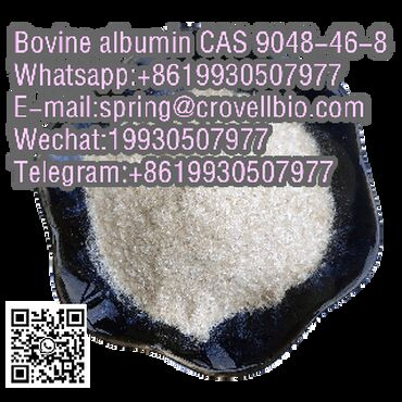 The market hot selling CAS 9048-46-8 Bovine albumin with top factory