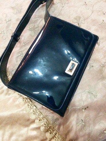 Bakı şəhərində сумка AVENUE б/у в идеальном состоянии. темно синяя. покупали за 60 ма
